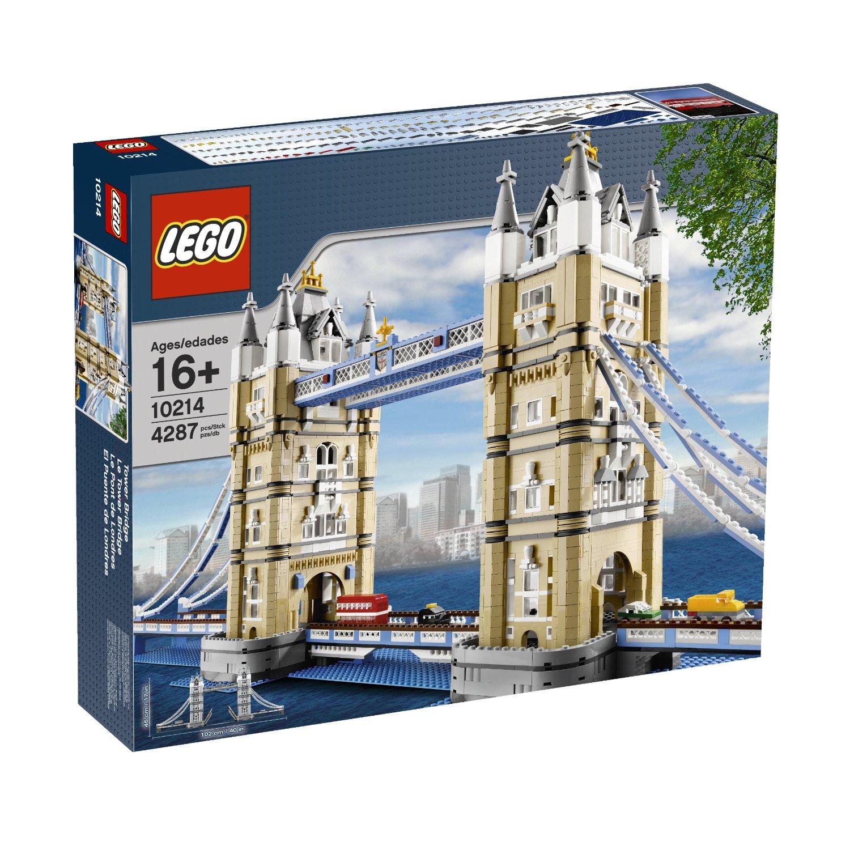 LEGO乐高 10214 伦敦塔桥送2012限定版Gund泰迪熊