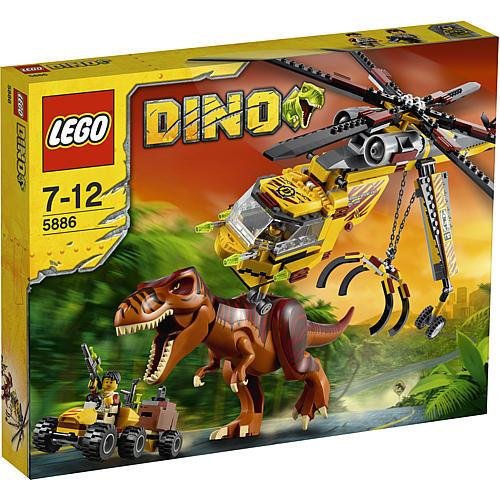 LEGO Dino 5886 T-Rex运输直升机