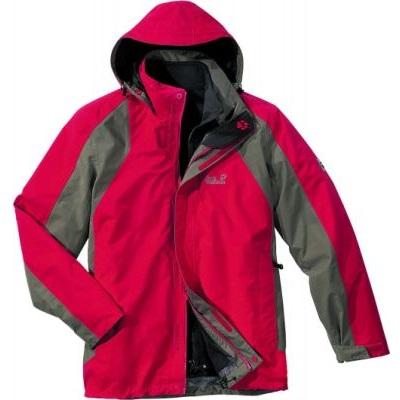 Jack Wolfskin Cold Mountain Doppeljacke Wanderjacke 双层冲锋衣