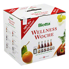 BIOTTA Wellness Woche Saft 果汁周