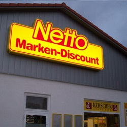 Netto超市购买10欧P&G宝洁公司产品