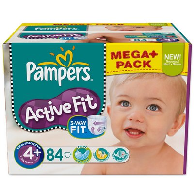 Pampers New Baby Gr. 1 Newborn (2-5 kg) 25片装 尿布