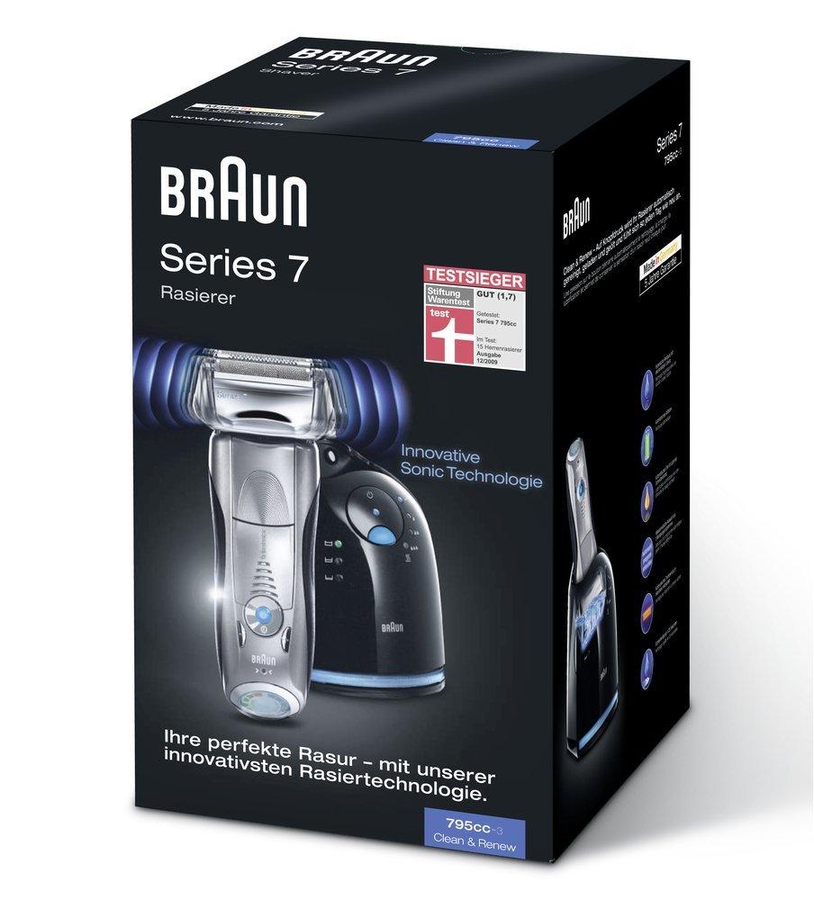 Braun博朗最顶级7系列三款剃须刀