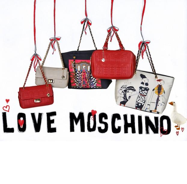 Love Moschino英伦风包包、挂链特卖