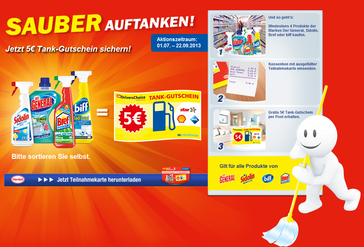 德国汉高Henkel清洁系列给力活动