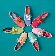 轻便舒适 Keds、Sperry帆布鞋、牛津鞋特卖