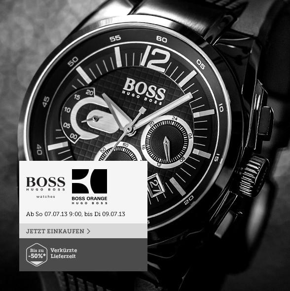 最经典和纯粹 Boss高级腕表