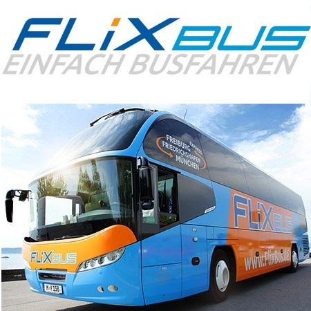 Flixbus 德国长途大巴 优惠券