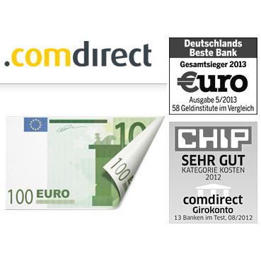 Comdirect银行新开户Girokonto