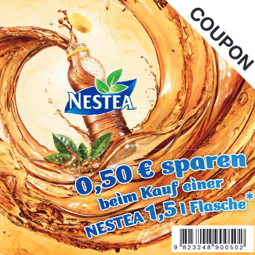 Nestea 饮料优惠券