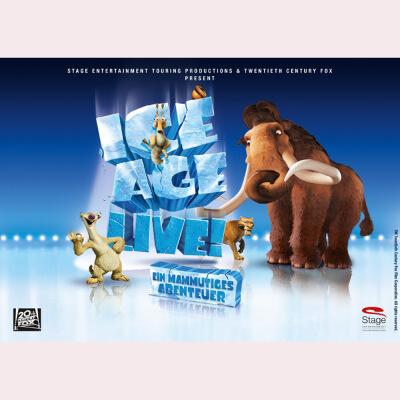 冰河世纪主题大型表演秀Ice Age Live巡演