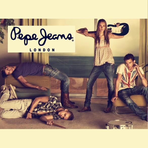 知名伦敦牛仔品牌Pepe Jeans