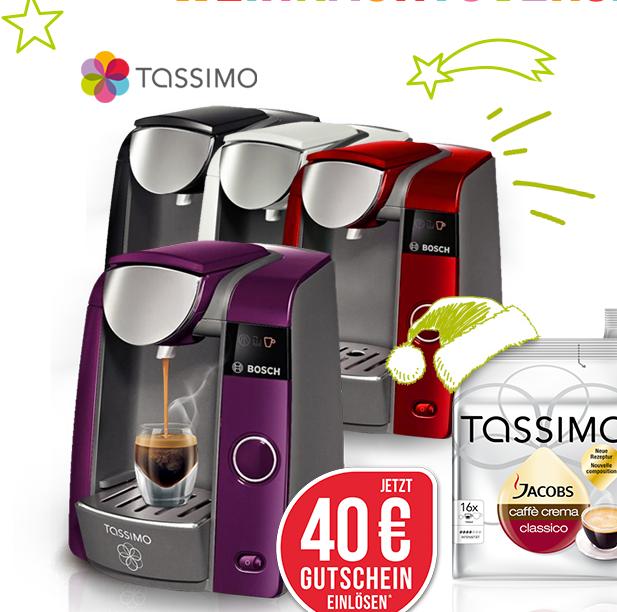 BOSCH Tassimo咖啡机 圣诞大优惠