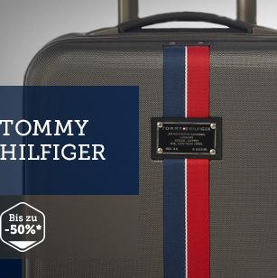 休闲领导品牌TOMMY HILFIGER旅行箱包闪购