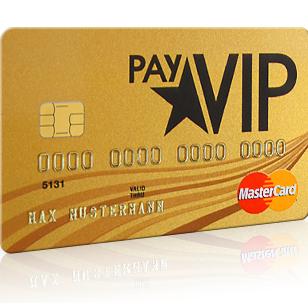 完全免费的Payvip信用卡