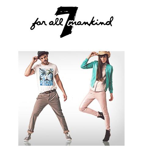 7 for all mankind 备受好莱坞明星欢迎的牛仔裤