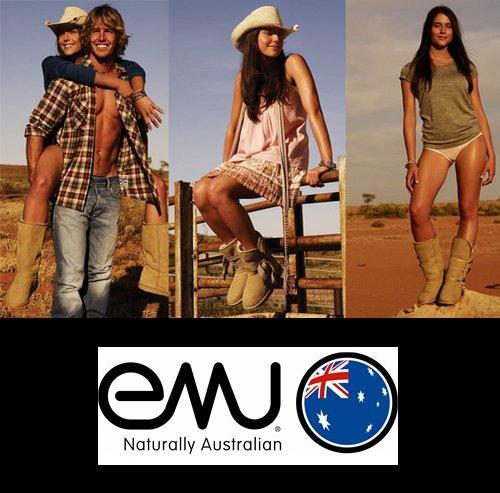 澳洲本土品牌EMU皮毛一体雪地靴
