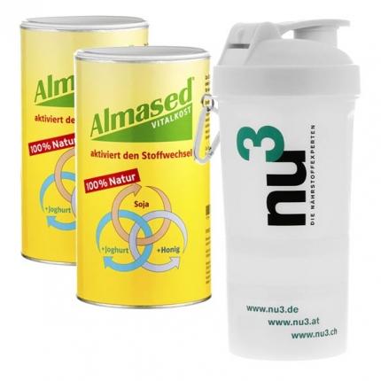 Almased Vitalkost蛋白粉3件套