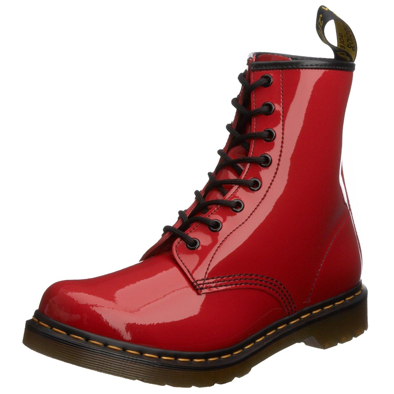 Dr. Martens 红色8孔马丁靴