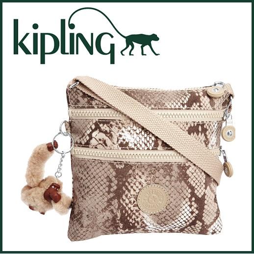 直邮中国-Kipling小猴子蟒纹小挎包