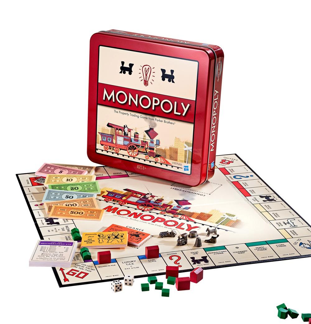 Hasbro孩之宝两款大富翁游戏