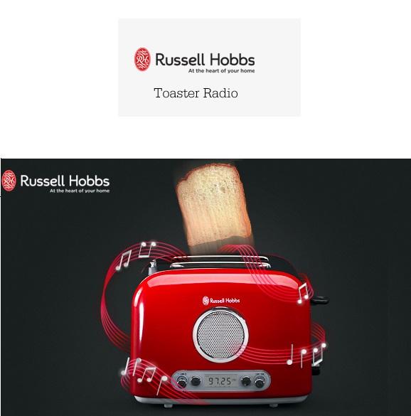 Russell Hobbs 会唱歌的烤面包机