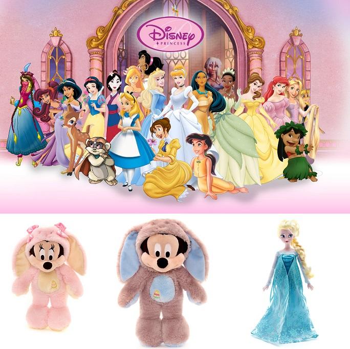 迪士尼可爱玩具