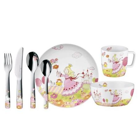 德国Auerhahn儿童公主餐具7件套礼盒