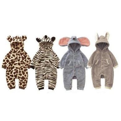 Bubbu婴儿连体动物服