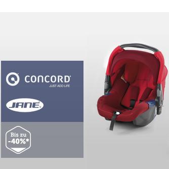 德国CONCORD和西班牙JANE儿童安全座椅、推车及配件