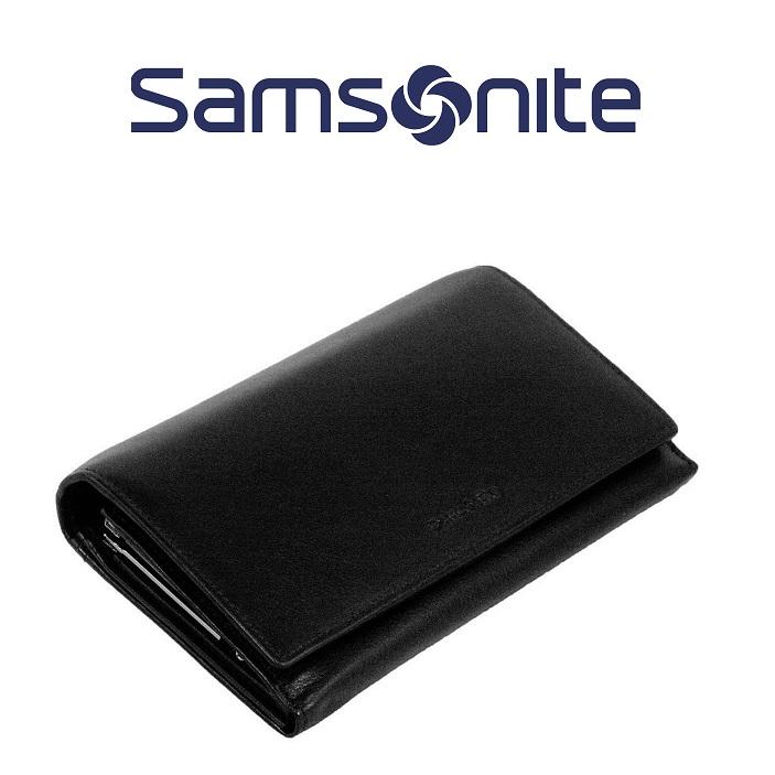 Samsonite 新秀丽真皮钱包 长款