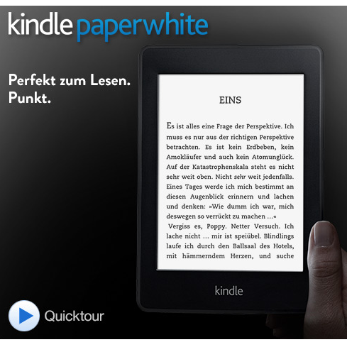 Kindle Paperwhite电子阅读器 WIFI版