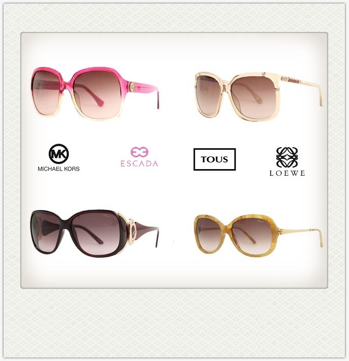 MK/Loewe/Escada等大牌太阳镜