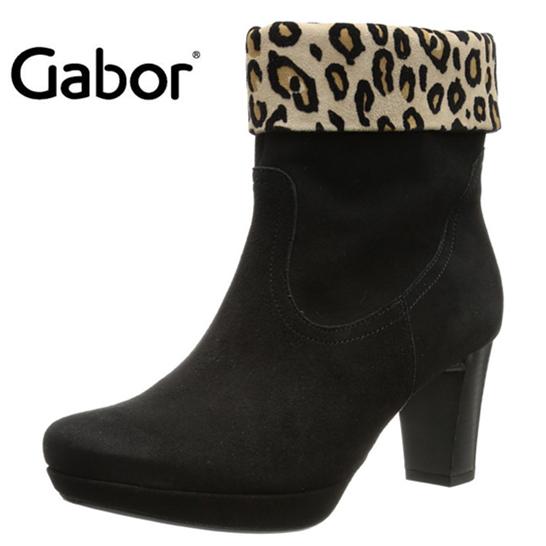 Gabor 女士豹纹短靴