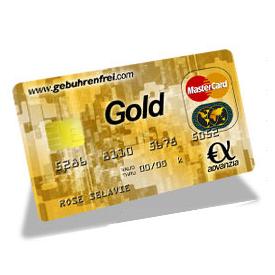 MasterCard Gold信用卡