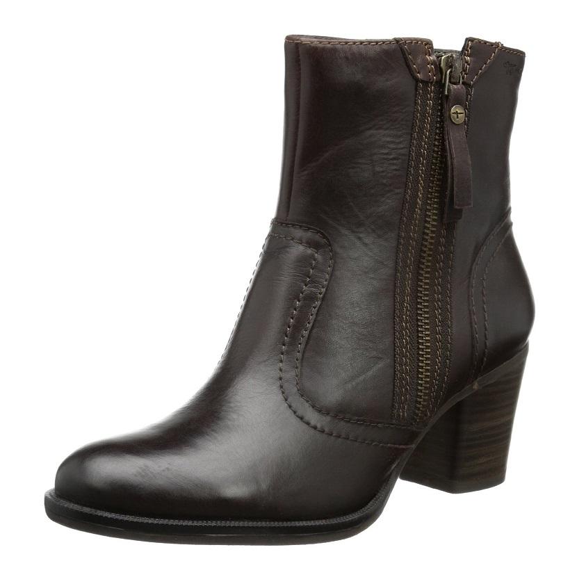 优雅轻熟风-Tamaris真皮女式踝靴