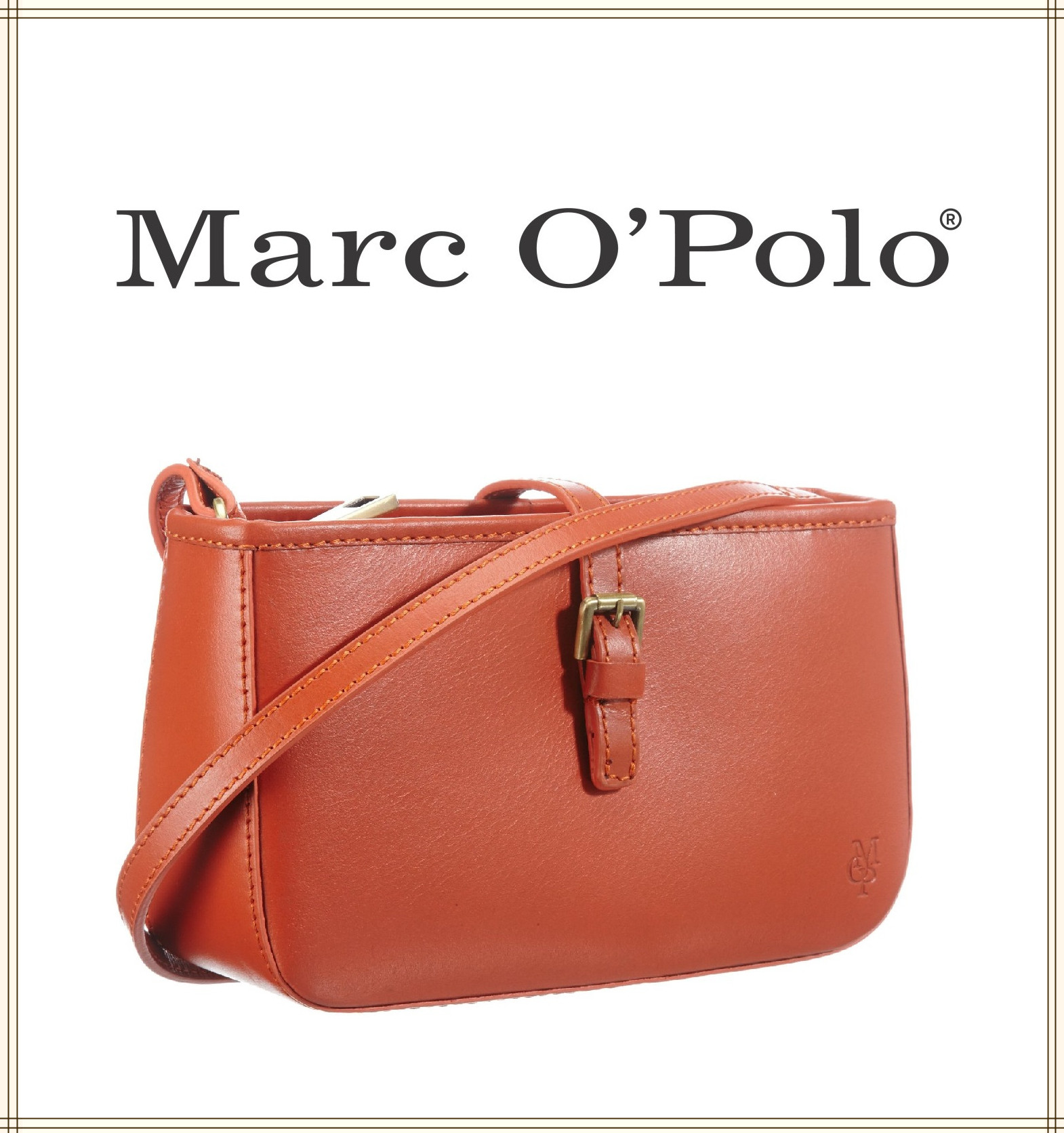 Marc O'Polo 三色精致小挎包