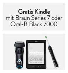 购德国博朗指定剃须刀/电动牙刷