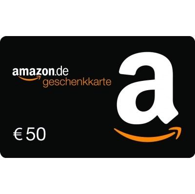 购50欧Amazon Geschenkgutschein