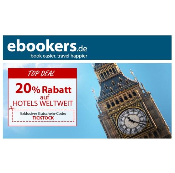 ebookers 轻松预订全球酒店