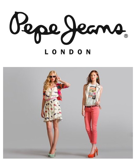 英国品牌Pepe Jeans男女及儿童服饰