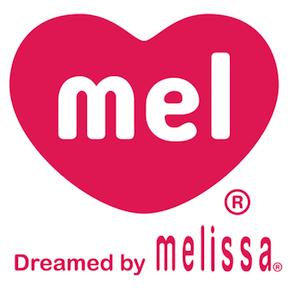 Melissa果冻鞋副牌Mel可爱桃心人字拖