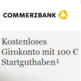 Commerzbank银行新开户奖励