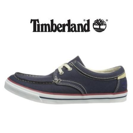Timberland 男士休闲帆布鞋