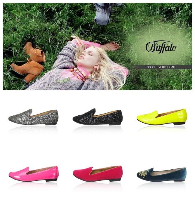 伦敦时尚女鞋品牌Buffalo