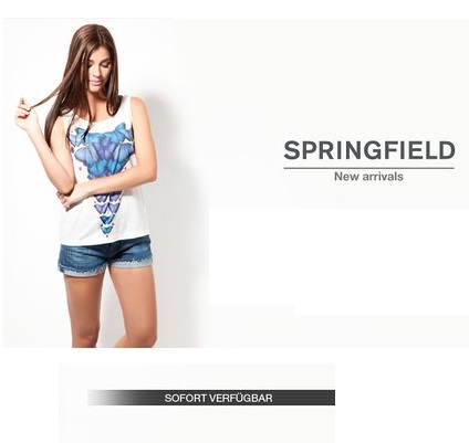 西班牙时尚品牌 Springfield 春夏新品