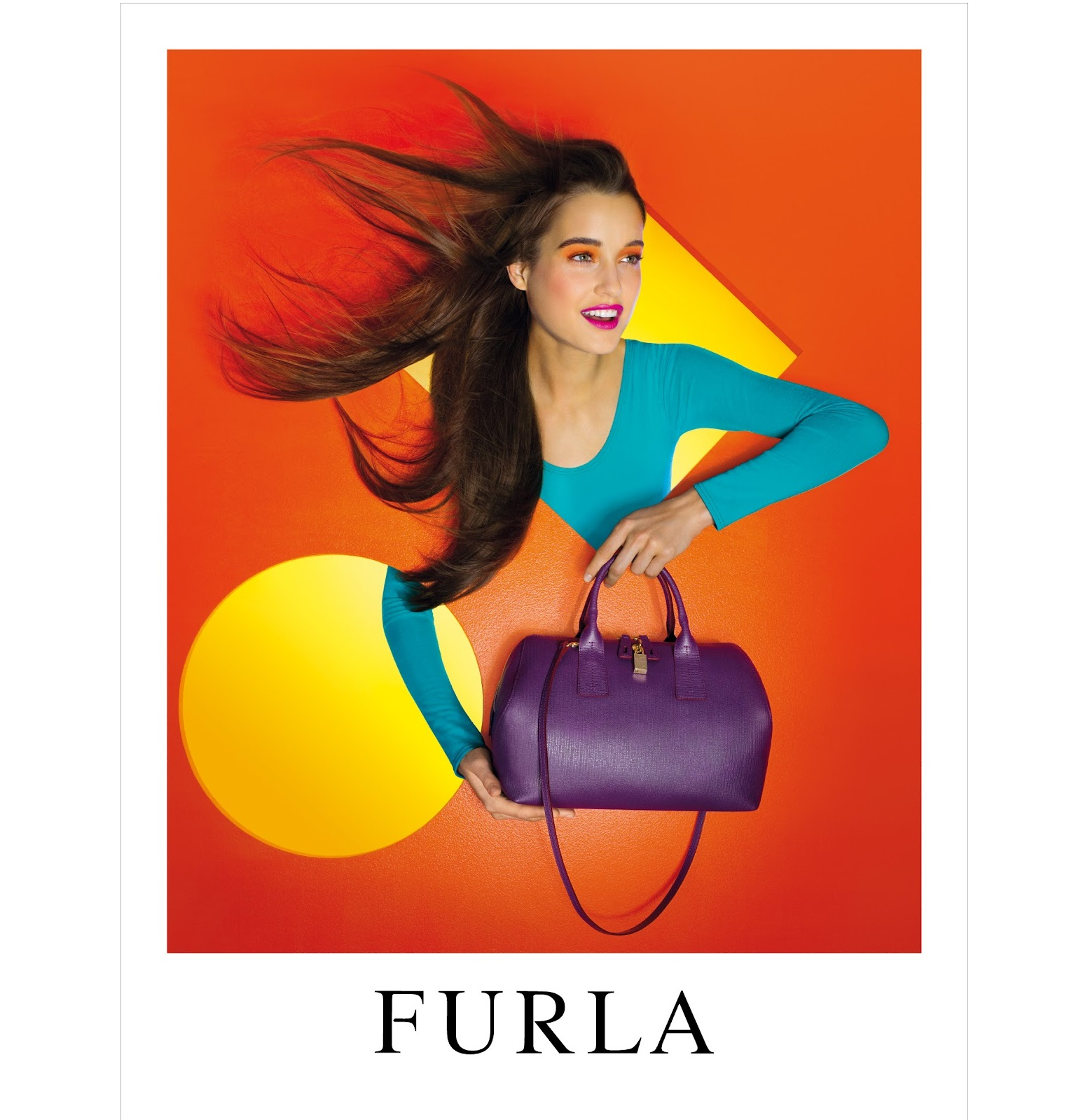 优雅名媛风 意大利高端皮具品牌Furla