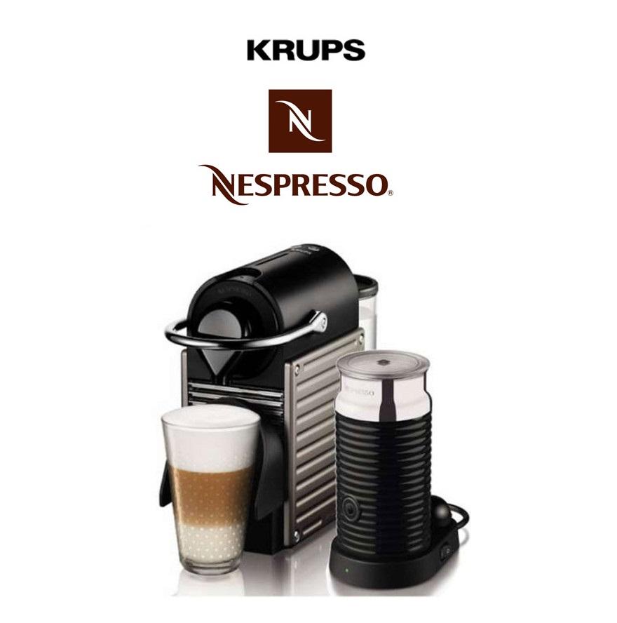 KRUPS Nespresso XN301T咖啡机+奶泡机