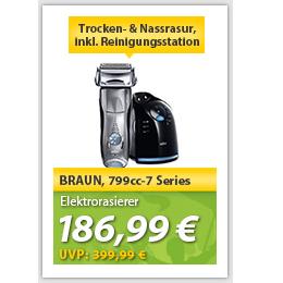 德国博朗顶级7系列剃须刀 Series 7 799cc-7