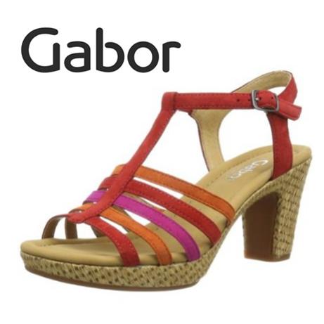 Gabor 夏季彩色高跟凉鞋